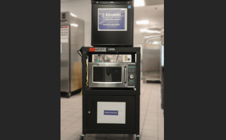 Einstein offers portable kosher food carts for patients